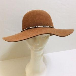 Genie by Eugenia Kim 100% Wool Felt Brown Hat